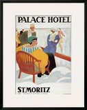 Palace Hotel Poster by Emil Cardinaux