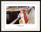 Girl on a Bridge Posters by Edvard Munch