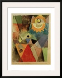 Still Life with Gas Lamp Framed Giclee Print by Paul Klee