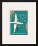 Japan Airlines: Fly to America Prints