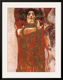 Hygieia (detail from Medicine) Prints by Gustav Klimt