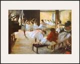 Ecole de Danse Posters by Edgar Degas