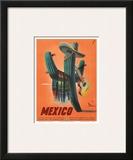 Mexico: Mariachi Cactus, c.1945 Art
