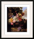 Stately Garden II Print by John Wainwright