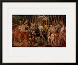 The Battle of San Romano, Right Panel, c.1454-57 Posters by Paolo Uccello
