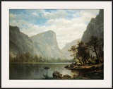 Mirror Lake, Yosemite Valley Art by Albert Bierstadt