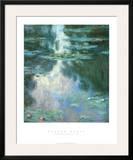 Waterlilies II Prints by Claude Monet