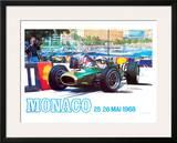 Monaco 1968 Framed Giclee Print