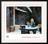 Automat Print by Edward Hopper