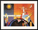 Grand Torre, Kiev Posters by Wassily Kandinsky
