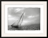 Classic Yacht Art by Philip Plisson