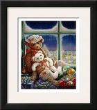 Molly and Sugar Bear Print by Janet Kruskamp