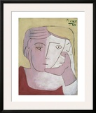 Head of a Woman, 1924 Posters by Pablo Picasso