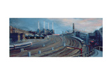 Ebury Bridge, 1998 Victoria Station Giclee Print by Lee Campbell
