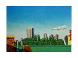 View of Canning Town Giclee Print by Noel Paine
