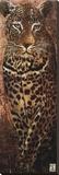 Carnets d'Afrique, Panthere Reproducción en lienzo de la lámina por Fabienne Arietti