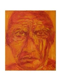 Pablo Picasso Giclee Print by Annick Gaillard