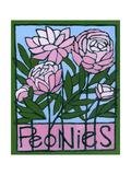 Peonies, 2007 Giclee Print by Megan Moore