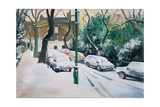 Campden Hill Square, 1996 Giclee Print by Jeanne Maze