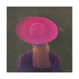 Pink Hat, 2014 Giclee Print by Lincoln Seligman