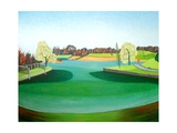 Winter Pond Giclee Print by Noel Paine