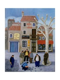 Cafe Du Centre Giclee Print by Margaret Loxton