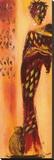 Femme Gazelle II Leinwand von  Johanna