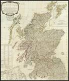 Composite: Scotland or North Britain, c.1790 Prints by Robert Campbell