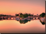 Pont neuf Stretched Canvas Print by  AG