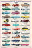 American Autos 1950-1959 Plakát