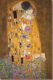 Le baiser Toile tendue sur châssis par Gustav Klimt