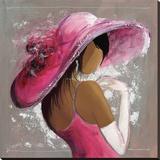 Tiffany Stretched Canvas Print by  Johanna