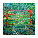 Red Gate, Summer, 2010 Giclee Print by Noel Paine