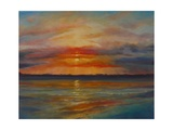Suset, 2013 Seascape Giclee Print by Lee Campbell
