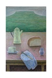 Still Life with Wensleydale Cheese, 2013 Giclee Print by Ruth Addinall