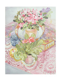 Primrose and Azalea Giclee Print by Joan Thewsey