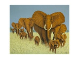 Enormous But Caring Giclee Print by Pat Scott