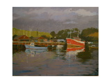 Fisherman's Quay, Salcombe Giclee Print by Jennifer Wright