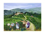 Margaret Loxton - Chianti Classico, Villa Trasqua Digitálně vytištěná reprodukce