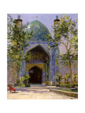Chanbagh Madrasses, Isfahan Giclee Print by Bob Brown