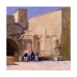Judy and the Girls, Yazd Giclee Print by Bob Brown