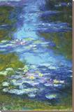 Nymphéas Reproduction sur toile tendue par Claude Monet