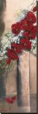Bouquet d'Orchidées Rouges II Reproduction transférée sur toile par Olivier Tramoni