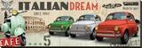 Italian Dream Reproduction transférée sur toile par  Braun Studio