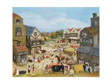 Market Day Giclee Print by Margaret Loxton