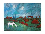 Wind and Meadow, 2010 Giclee Print by Rob Woods