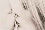 Mother Kissing Baby Photographic Print by Graeme Harris