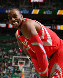 Nov 02, 2013, Houston Rockets vs Utah Jazz - Dwight Howard Photographic Print by Melissa Majchrzak