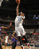 Nov 22, 2013, Phoenix Suns vs Charlotte Bobcats - Al Jefferson Photographic Print by Kent Smith