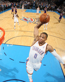 Mar 13, 2014, Los Angeles Lakers vs Oklahoma City Thunder - Russell Westbrook Photographic Print by Layne Murdoch